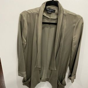 XS Olive green blazer Guess by Marciano